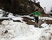La gara nella neve
