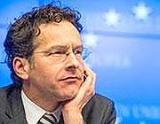 Il presidente dell'Eurogruppo, Jeren Dijsselbloem (Afp)