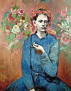Il «Ragazzo con la pipa» di Picasso (Afp)