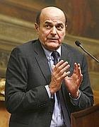 Il presidente incaricato Pier Luigi Bersani (Epa/Minnella)