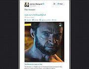 Il tweet del regista James Mangold con il breve filmato