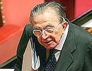 Il senatore Giulio Andreotti