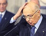 Giorgio Napolitano (Ansa/M. Brambatti)
