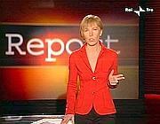 Milena Gabanelli durante una puntata di �Report�, su Raitre (Ansa)