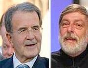 Romano Prodi e Gino Strada