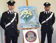 Il quadro rubato (Ansa)