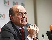 Il segretario Pd Pierluigi Bersani (Ansa)