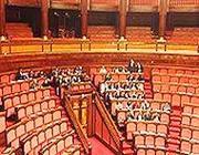 Il Senato occupato dai Cinque Stelle (Facebook)