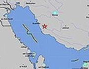 L'epicentro del terremoto in Iran (da Usgs)