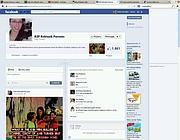 La pagina Facebook in memoria di R.P.