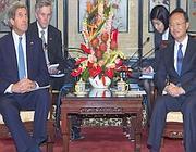 John Kerry e Yang Jiechi