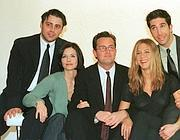 Il cast di Friends: Matt Le Blanc, Courteney Cox, Matthew Perry, Jennifer Aniston e David Schwimmer (Reuters/Boyce)