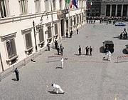 Davanti a palazzo Chigi, la �scena del delitto�