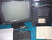 Il primo server della storia, con tanto di foglietto «Non spegnere»