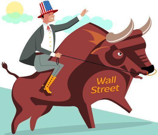 Il «Toro», simbolo del rialzo, a Wall Street