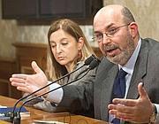 La presidente del M5S alla Camera Lombardi e il presidente al Senato Crimi