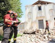 San Possidonio: una pieve crollata