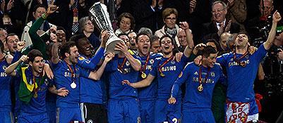 Europa League: il Chelsea batte il Benfica in zona Cesarini