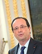 Il presidente francese Francois Hollande (Afp)
