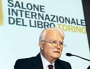 Gian Carlo Caselli al Salone del Libro (Ansa/Di Marco)
