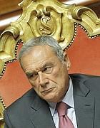 Il presidente del Senato Piero Grasso