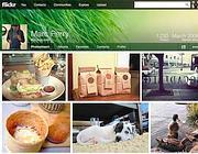 I nuovi profili Flickr