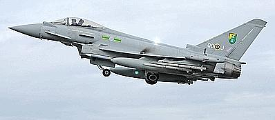 Un jet della Raf, la Royal Air Force (Ap/ Mod via PA)