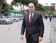 Il governatore del Lazio Zingaretti
