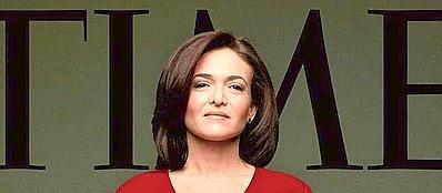 Sheryl Sandberg sulla copertina di Time