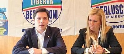 Alessandro Bertoldi con Michaela Biancofiore
