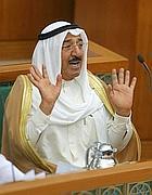 Sabah al-Ahmad al-Sabah (Afp)