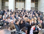 Berlusconi condannato il pdl atto eversivo alfano al for Parlamentari pdl