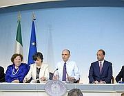 La conferenza stampa del governo in cui è stato presentato il nuovo Dl