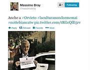 Il tweet di Massimo Bray