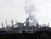 Lo stabilimento dell'Ilva di Taranto