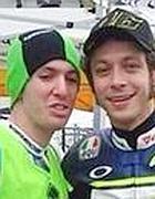 Rossi e Antonelli insieme (da Twitter)