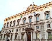 Il palazzo della Consulta a Roma.