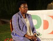 Il ministro Kyenge alla festa del Pd di Cervia (Ansa)