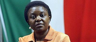 Il ministro per l'Integrazione Cecile Kyenge (Ansa)