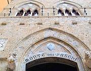 La sede del Monte dei Paschi di Siena