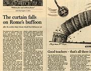 Il Financial Times: �Cala il sipario sul buffone di Roma�