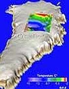 Il flusso di calore dal mantello nella Groenlandia centrale (Gfz/Petrunin)