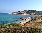 Una spiaggia sarda