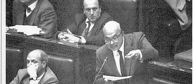Bettino Craxi nel discorso alla Camera del 1993