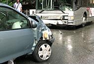Se l'incidente stradale non � grave arrivano vigili e poliziotti privati