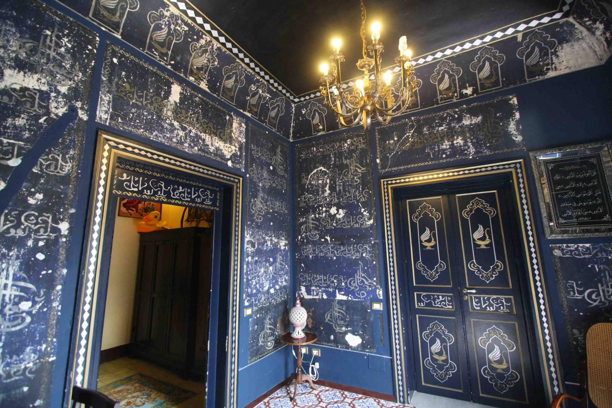 La stanza-moschea scoperta in un appartamento in via Porta di Castro, a Palermo