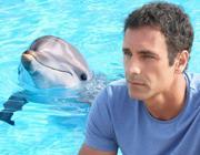 Raoul Bova sul set di«Come un delfino»