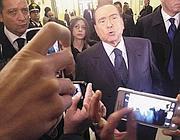 Il leader del Pdl Silvio Berlusconi