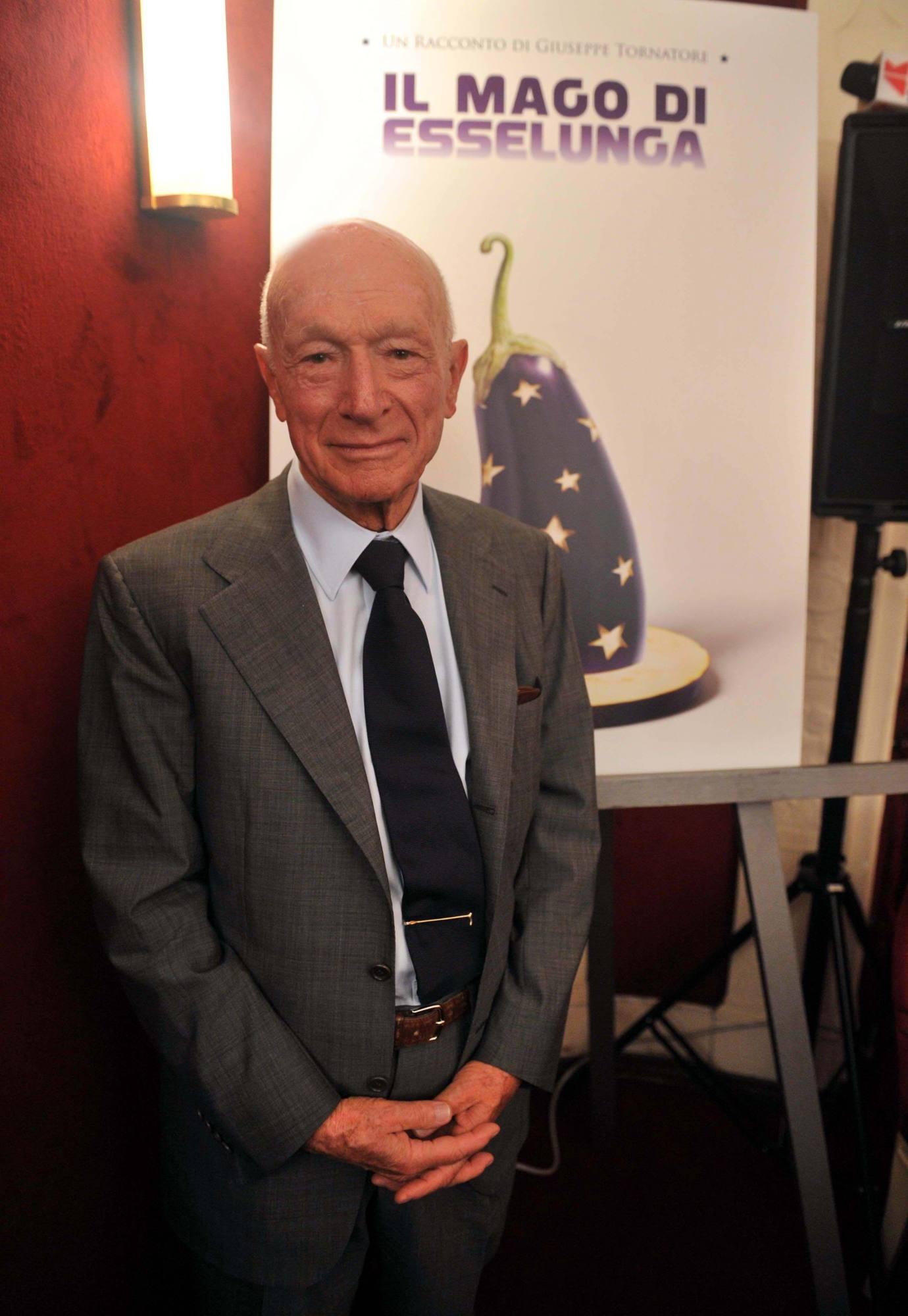 Bernardo Caprotti, 87 anni, fondatore del gruppo Esselunga