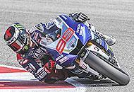 A Misano non c'� gara,  trionfa Lorenzo. Rossi ancora al quarto posto